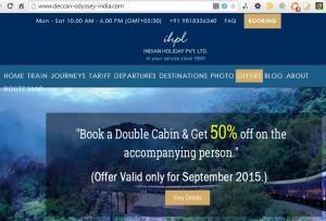 Maharashtra Tourism files for UDRP against deccan-odyssey-india.com