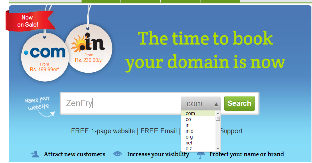 Once awarded under INDRP – available Domain Names !