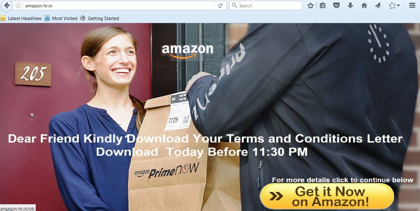 INDRP over phishing domain: Amazon-hr.in having Amazon WHOIS