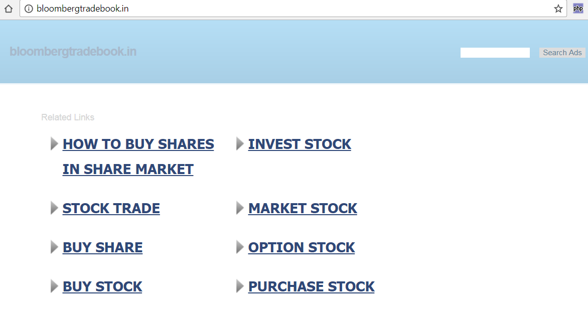 BloombergTradeBook.in transferred away in INDRP along with costs