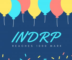 INDRP reaches #1000 milestone