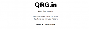 INDRP over 10 days old Domain Name – QRG.in