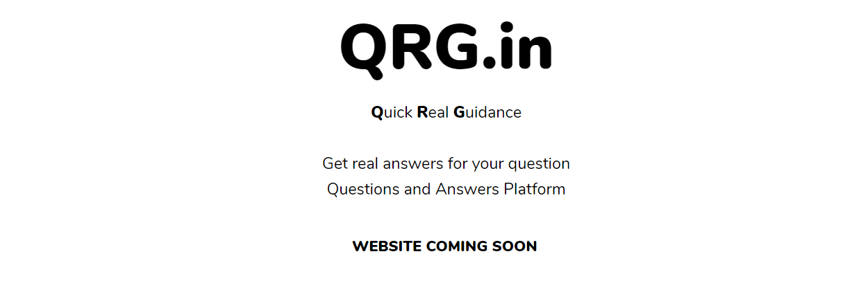 QRG.in domain name surrendered by the owner to Havells Group