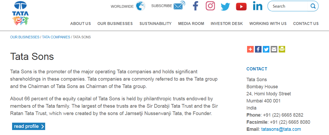 TATA Group wins TataJob.in domain under INDRP procedure
