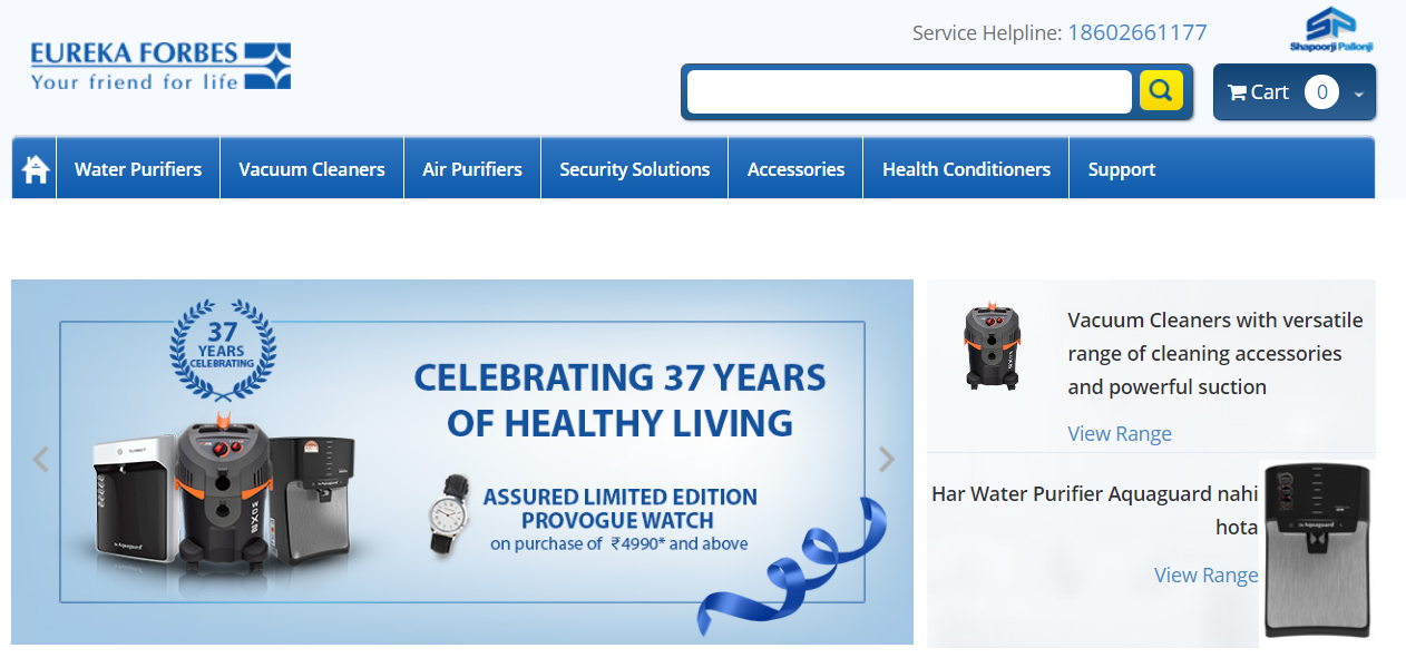 Eureka Forbes Limited prevails in INDRP Complaint