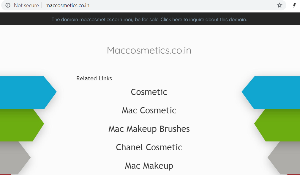 INDRP/1094 – Disputed Domain Name Decision: Maccosmetics.co.in (Transfer)